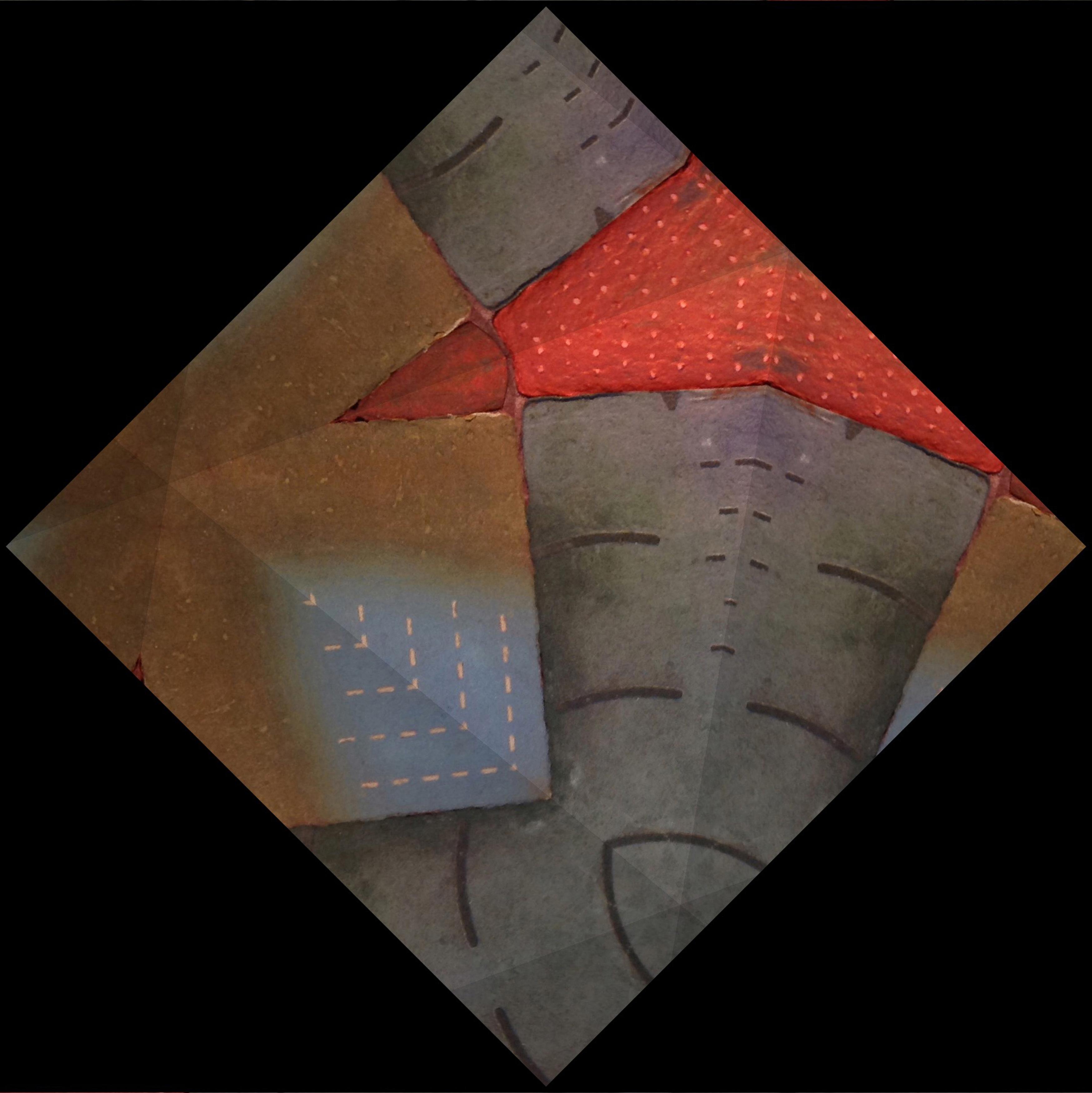 Peter Ford - Diamond Stitch Work     2018  20 x 20 cm archival inkjet print    £100
