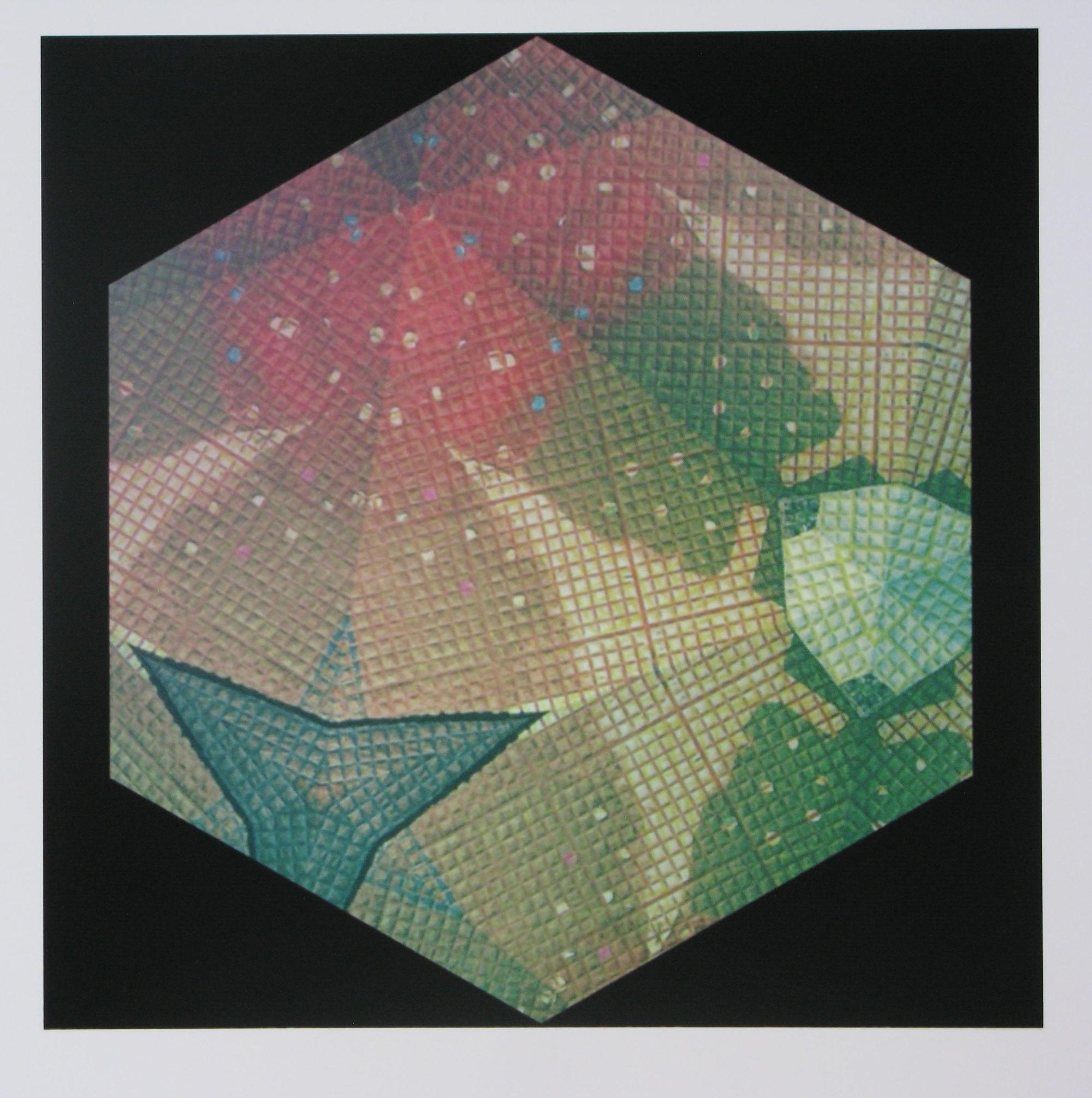 Peter Ford Hexagon 2   2018   20 x 20 cm   archival inkjet print    £100